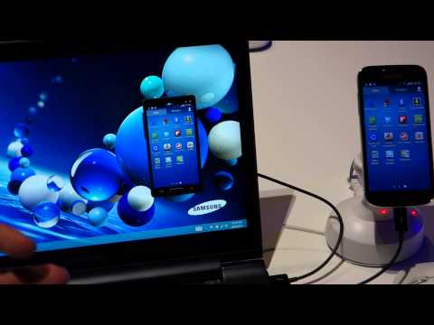 Samsung SideSync video demonstration