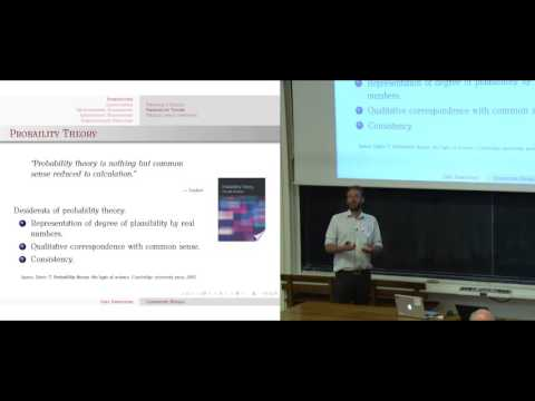 3rd Biomedical Image Analysis Summer School. Lecture of John Ashburner.