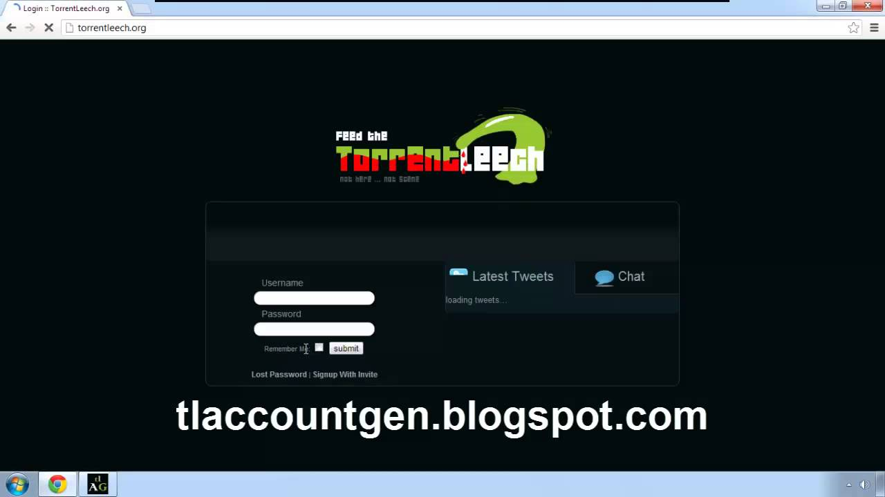 TorrentLeech Account Generator Get Your Free TL Account Now YouTube
