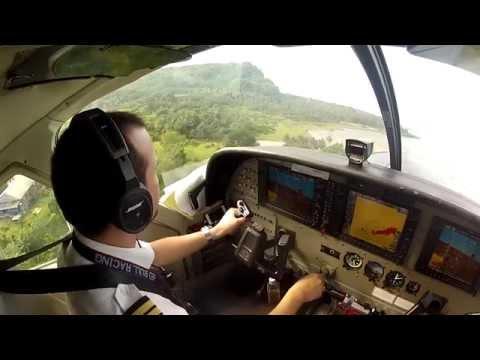 Departure From Simeulue, Aceh, Sumatra, Indonesia - Susi Air Cessna Grand Caravan C208B