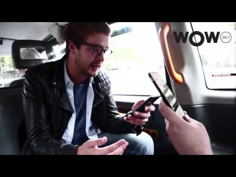 Pokemon hunting with comedians in a taxi