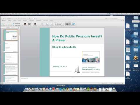 NIRS Issue Brief - How Do Public Pensions Invest? A Primer