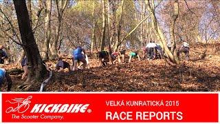 Kickbike RACE REPORTS - Velká Kunratická 2015