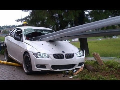 CAR ACCIDENTS: BMW Sports Car Crashes