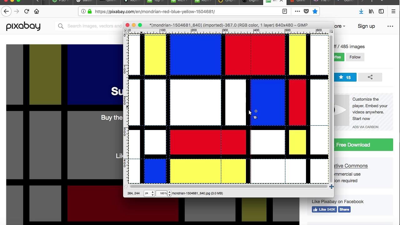 Gimp Guillotine Follow Up PDF Slideshow and Video Tutorial | Robert