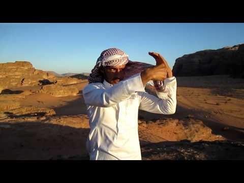 How to Tie a Bedouin Scarf