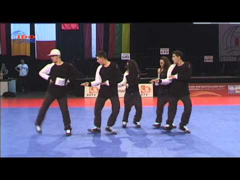 IDO WORLD CHAMPIONSHIP 2010  HIP HOP SMALL GROUP 5th PLACE -MACEDONIA-BREJK A LEG