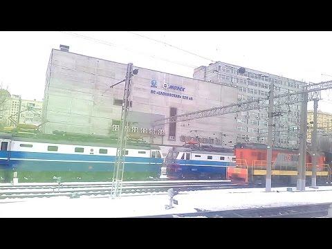 . Москва-Казанский вокзал-Раменское. Поездка на поезде Москва-Пенза