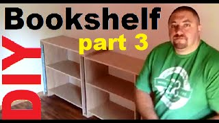 Diy 3.0 Build Hardwood Bookshelves, Book Cases, Entertainment Center, Storage Shelves, Utility Shelf