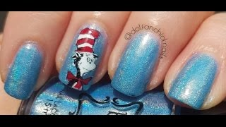 Happy Birthday, Dr. Seuss - Dr Cat in the Hat Nails