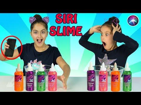 SIRI PICKS my Slime Ingredients!!!