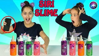 SIRI PICKS my Slime Ingredients!!!