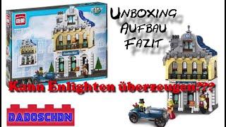 Kann Enlighten überzeugen??? - Fake Lego - Sunshine Hotel - 1127 - Unboxing, Aufbau und Fazit
