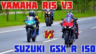 yamaha-r15-v3-vs-suzuki-gsx-r-150-epic-drag-race-pike-pico-en-ibagu-