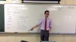 Introduction to Arithmetic Progressions (2 of 2: Recursive Definition & Test)