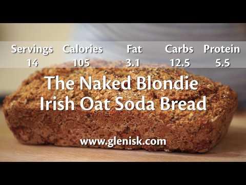 The Naked Blondie Irish Oat Soda Bread