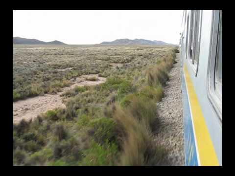A bordo del Expreso del Sur (Bolivia)