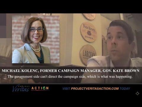 """#SecretsAndLies: Oregon Governor Kate Brown, Fmr Campaign Manger Details """"Graft & Corruption"""""""
