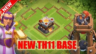 Clash of Clans | TOWN HALL 11 UPDATE BASE Y 2016 | TH11 Trophy Base! in LEGEND