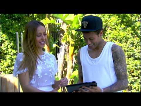 Sabrina prepara vídeo surpresa com depoimento dos amigos de Neymar