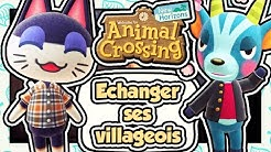 COMMENT ÉCHANGER DES VILLAGEOIS DANS ANIMAL CROSSING NEW HORIZONS ???
