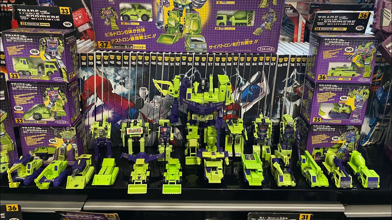 Transformers G1 Devastator Mexican, Takara, GiG, Hasbro Collection by Toys Are Russ