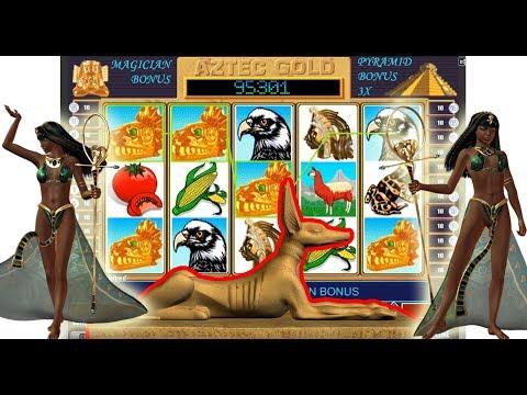 Игровой автомат Aztec Gold.  Как выиграть, секреты автомата Ацтек голд