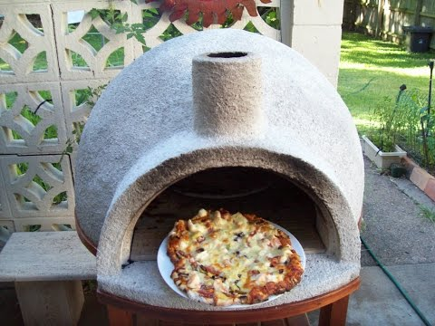 Wood Fired Pizza Oven Easy Build