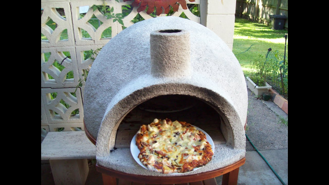 wood fired pizza oven easy build youtube