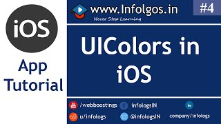 iOS Application Development - How to Use Colors in xCode - Tutorial 4