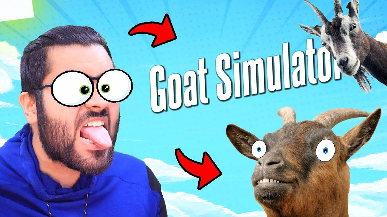 😂GOAT SIMULATOR 😂 | Funny Moments | Hitesh KS