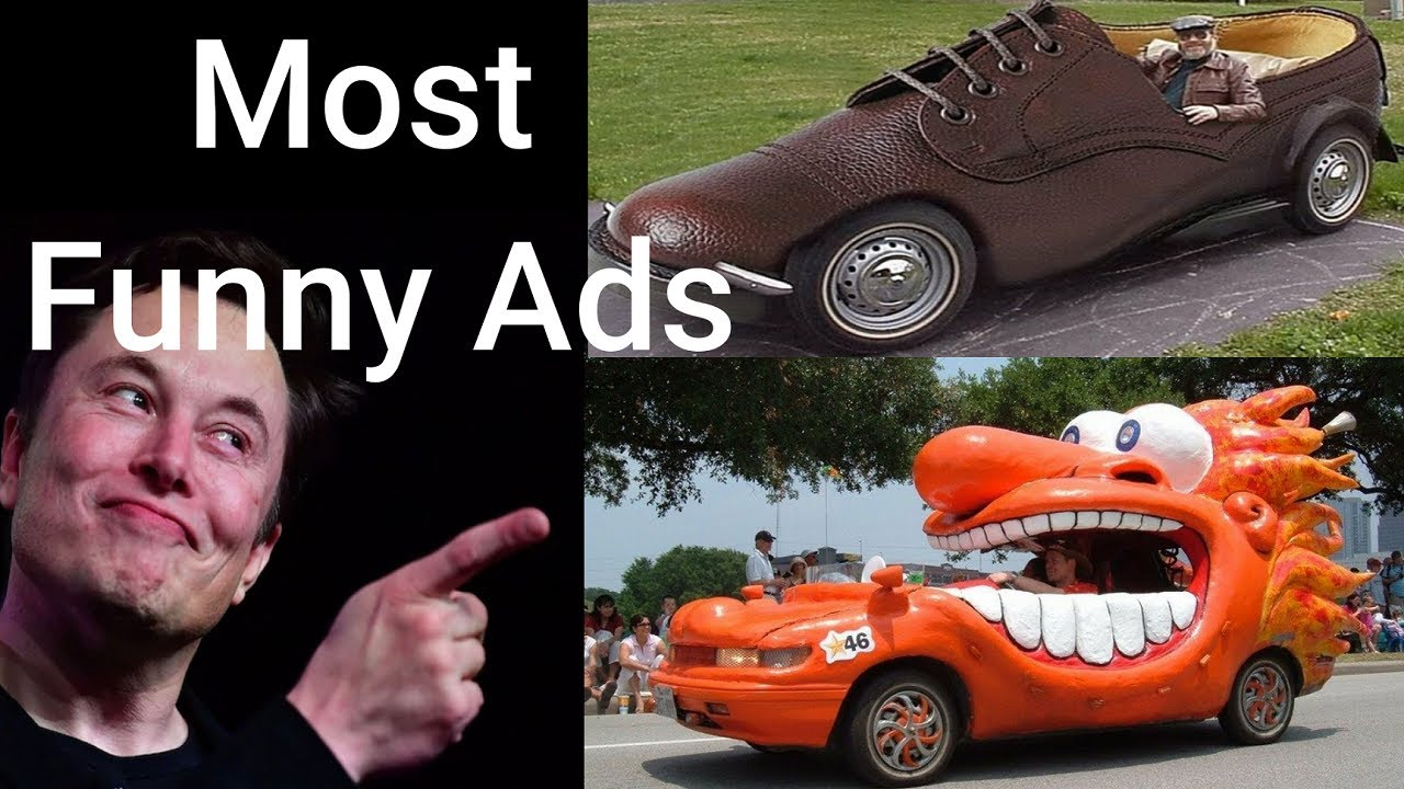 Most Funny ADS Ever Made - Car version