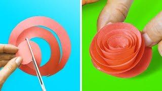 18 EASY-TO-MAKE DIY FLOWERS