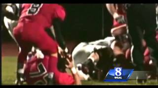 Pennsylvania player may face criminal charges after ripping helmet off foe and beating him with it