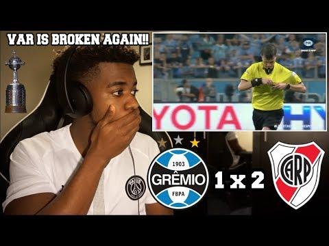 GRÊMIO 1 x 2 RIVER PLATE - Melhores Momentos  Libertadores 30102018  Reaction