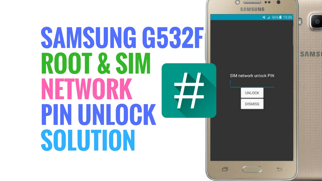 How to | Samsung G532F Root And SIM Network Pin Unlock Done by z3x |  MrSolution🕵