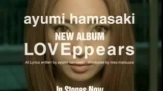 [고전 영상] [일본음악] hamasaki ayumi - LOVEppears (CF)