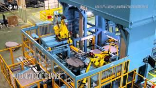 AIDA DSF-T4-30000, 3,000 Ton Servo Transfer Press
