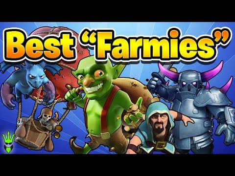 3 FARMING ARMIES FOR NEW TH10s! - Free To Play TH10 -