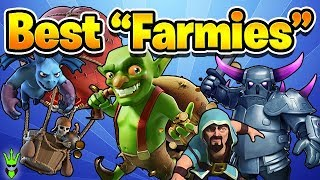 "3 FARMING ARMIES FOR NEW TH10s! - Free To Play TH10 - ""Clash Of Clans"" #AD"