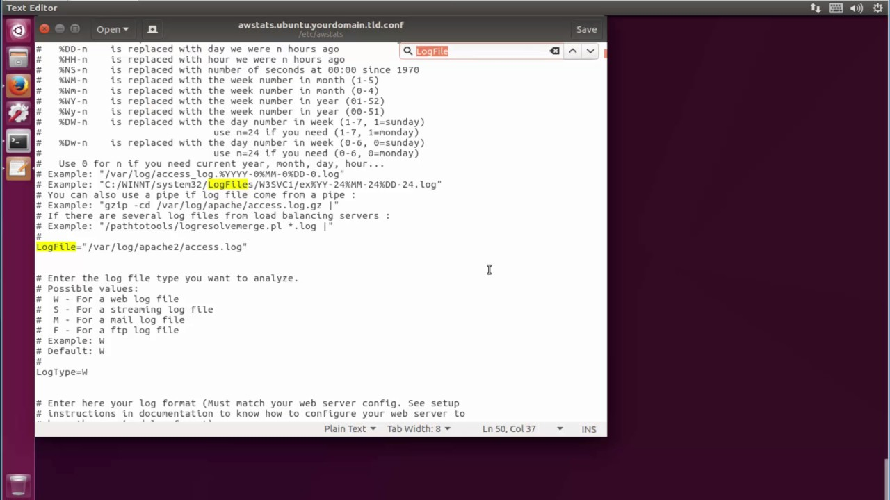 How to Set Up AWStats Apache Log Analyzer On ubuntu 17 04 zesty zapus