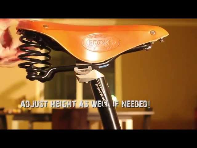 How To Install a Brooks Saddle