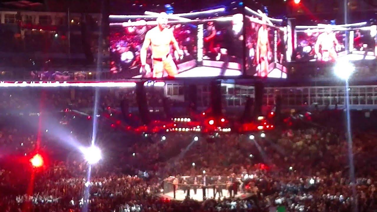 Repeat Randy Couture UFC 129 Entrance by Rick Nugent