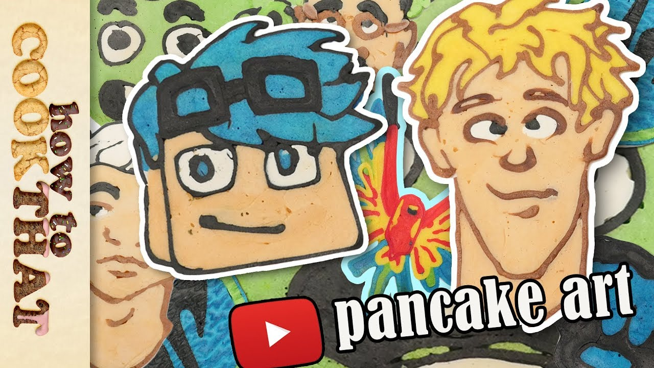 top-youtubers-pancake-art-jake-paul-guava-juice-ft-draw-with-jazza