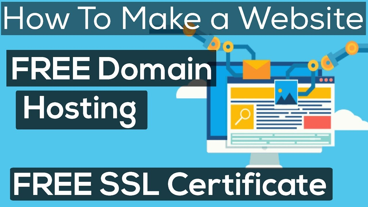 How to make a website with free Domain & Hosting with free SSL Certificate