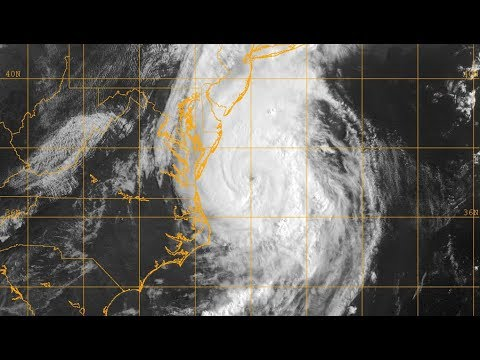 Hurricane Arthur continues up the East Coast - Update 5 (Jul 4, 2014)