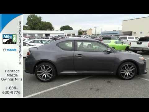 2014 Scion TC Baltimore MD Owings Mills, MD #BP070912   SOLD. Heritage  Mazda Owings Mills