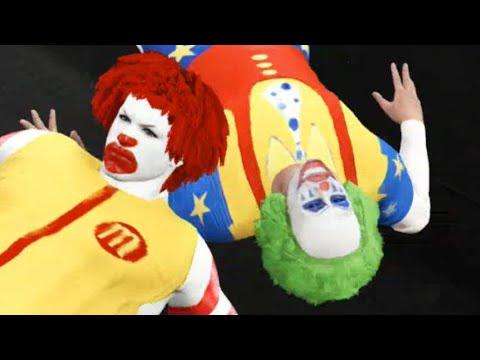 WWE 2K16 - Ronald McDonald Vs. Doink the Clown