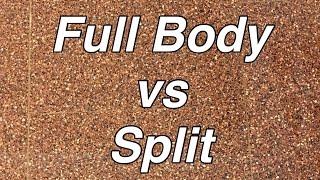 《FullBody vs Split workout》