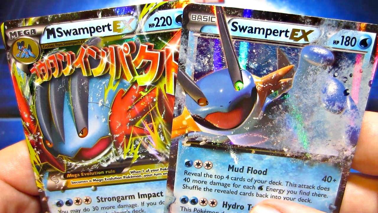 Mega Swampert Ex Premium Collection Box Pokemon Card